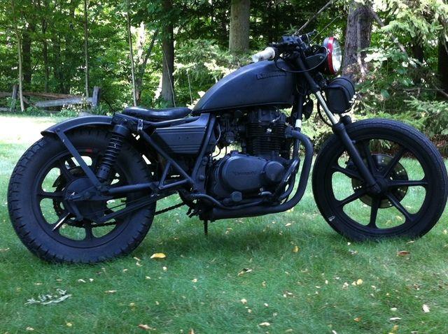 1981 kz440 ltd bobber/rat/bratstyle inspired | the beast – my new