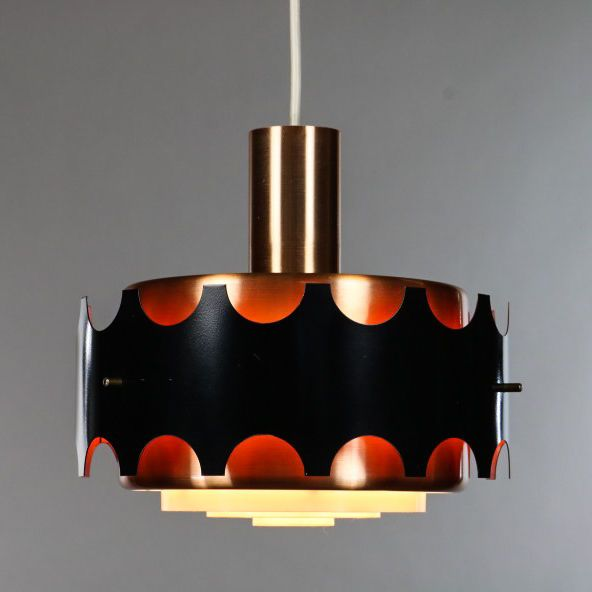 Details Zu Alte Doria Glas Ball Pendel Lampe 30cm Leuchte Vintage