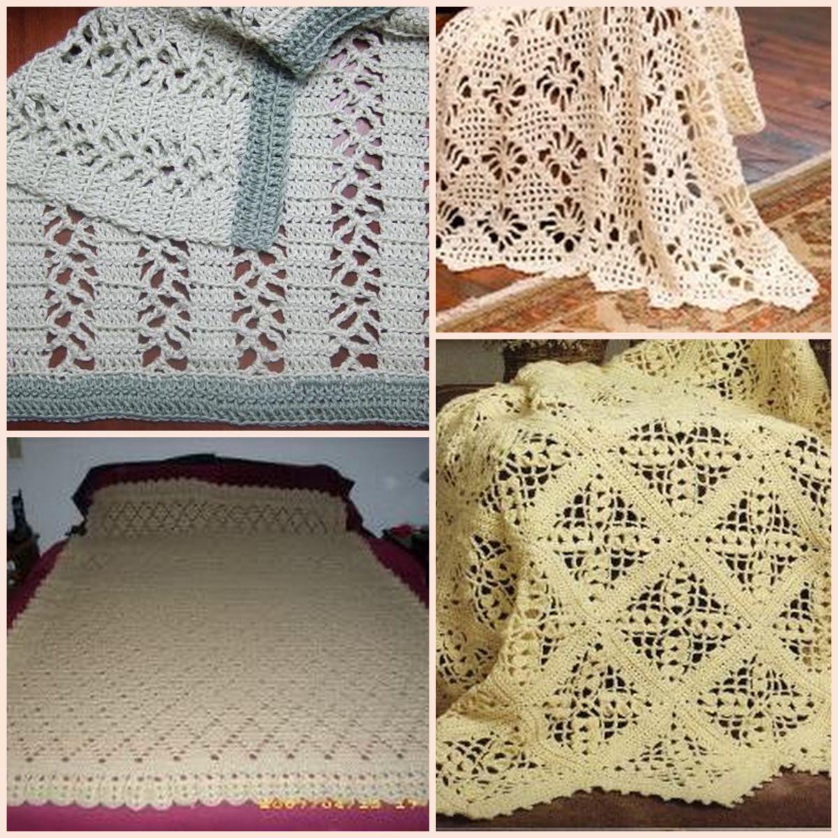 28 lace crochet designs for afghans afghans crochet and crochet 20 lace crochet designs for afghans from allfreecrochetafghanpatterns bankloansurffo Images