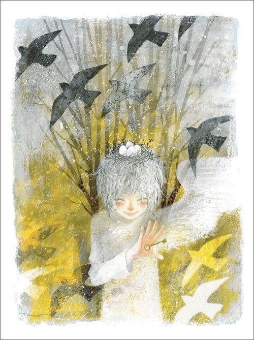 Bird's Nest Print by Yoko Tanji - Gallery Nucleus