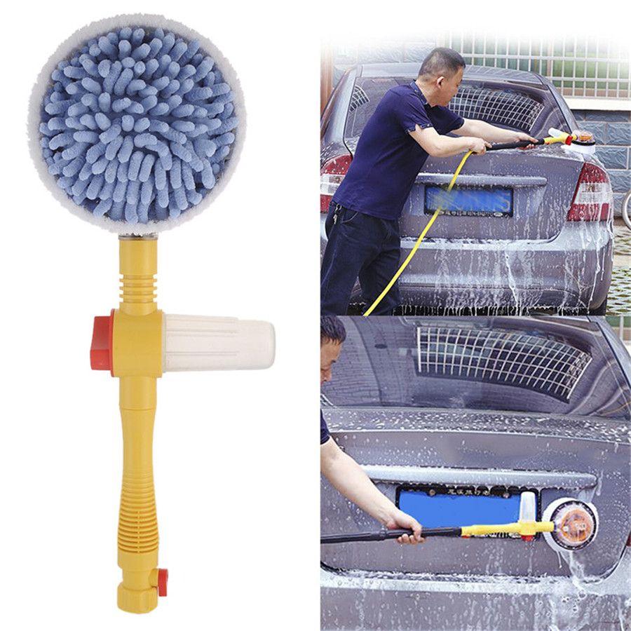 Portable Automatic Car Foam Brush Washer Professional