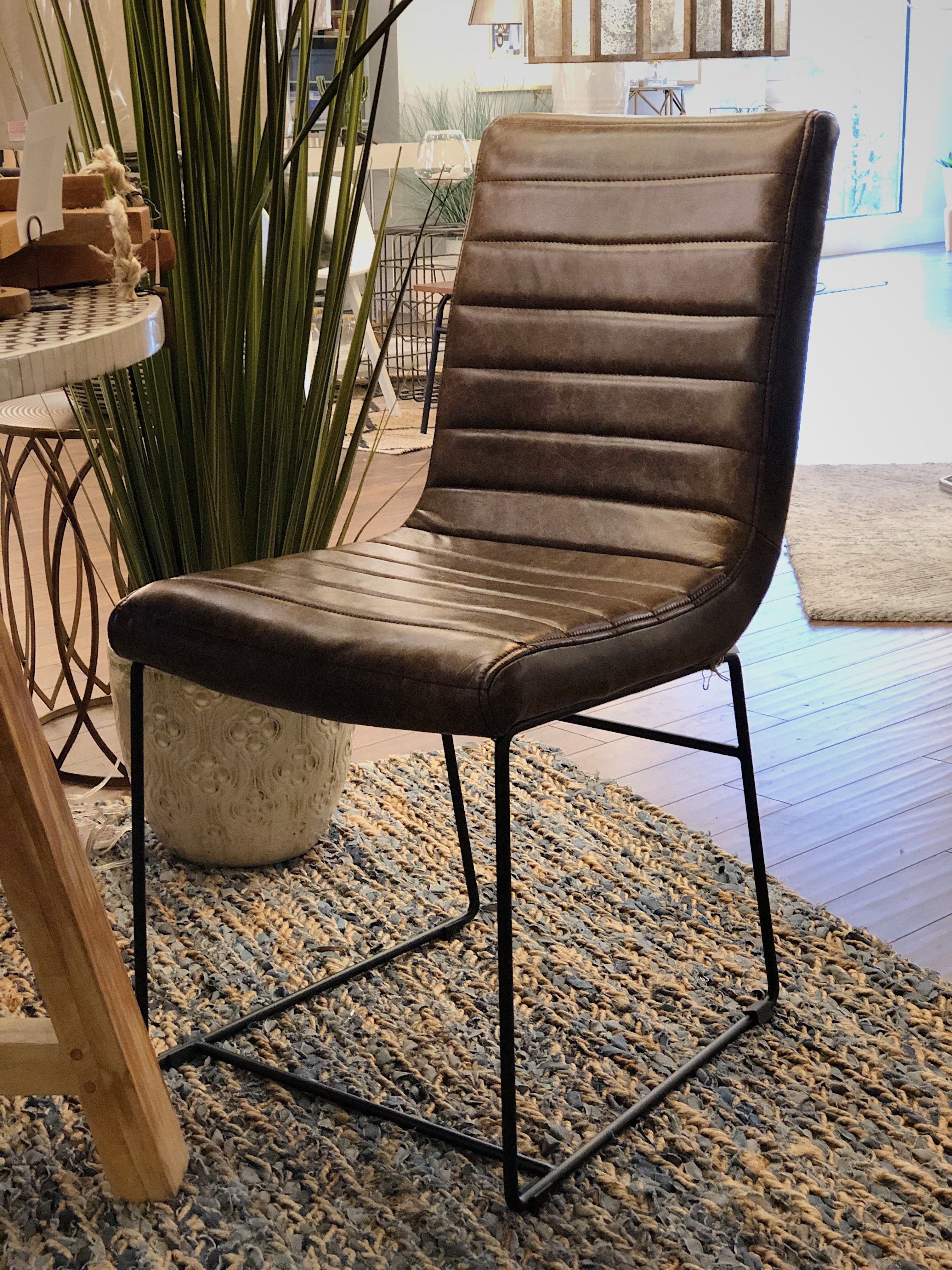 Strange Tobacco Faux Leather Bistro Chairs From Elk Home 2 0 1 9 Pdpeps Interior Chair Design Pdpepsorg