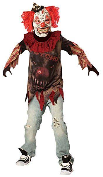 Erdbeerloft Jungen Karneval Halloween Kostum Scary Clown