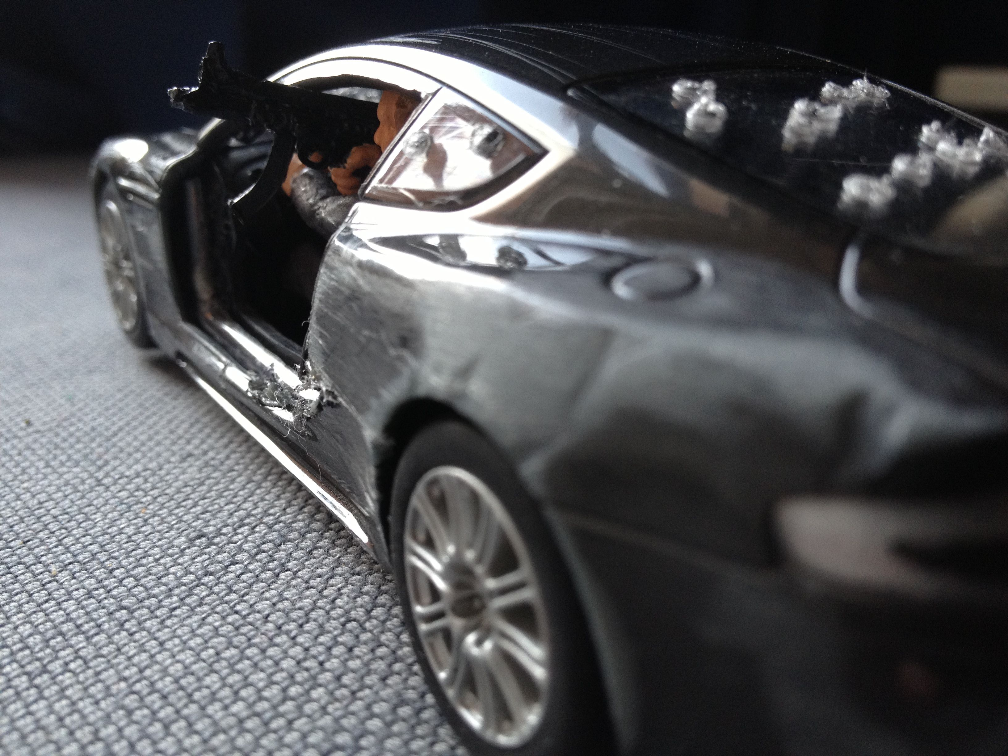 The 42 best Custom Scalextric Aston Martin DBS Quantum of Solace