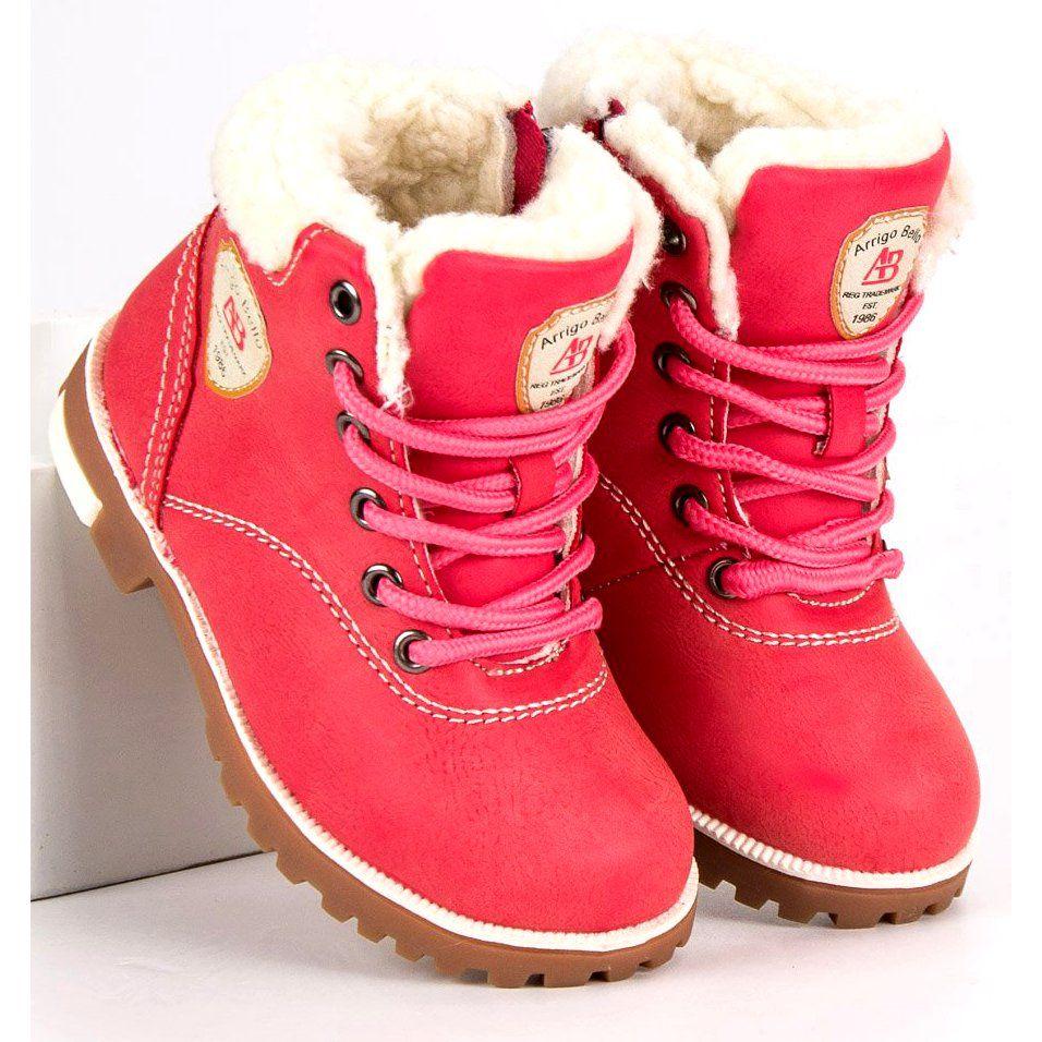 Kozaki Dla Dzieci Arrigobello Arrigo Bello Rozowe Zimowe Buty Z Kozuszkiem Timberland Boots Boots Winter Boot