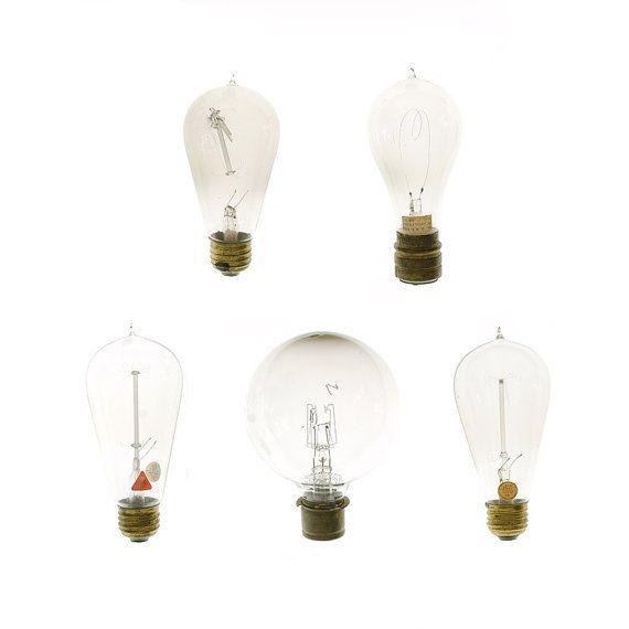 Antique Light Bulbs  by Jennifer Booher