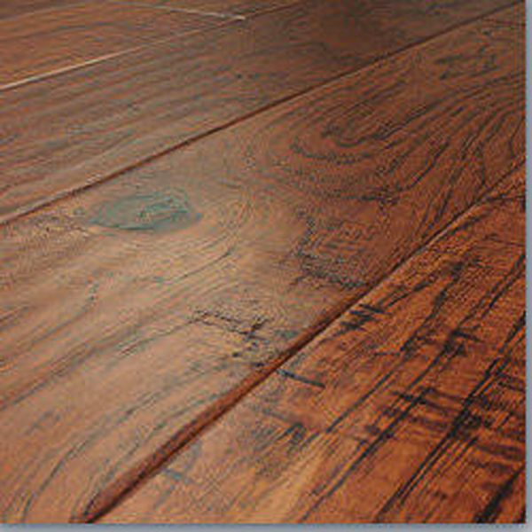 Hand Scraped 12mm Savannah Hickory Laminate | Floors