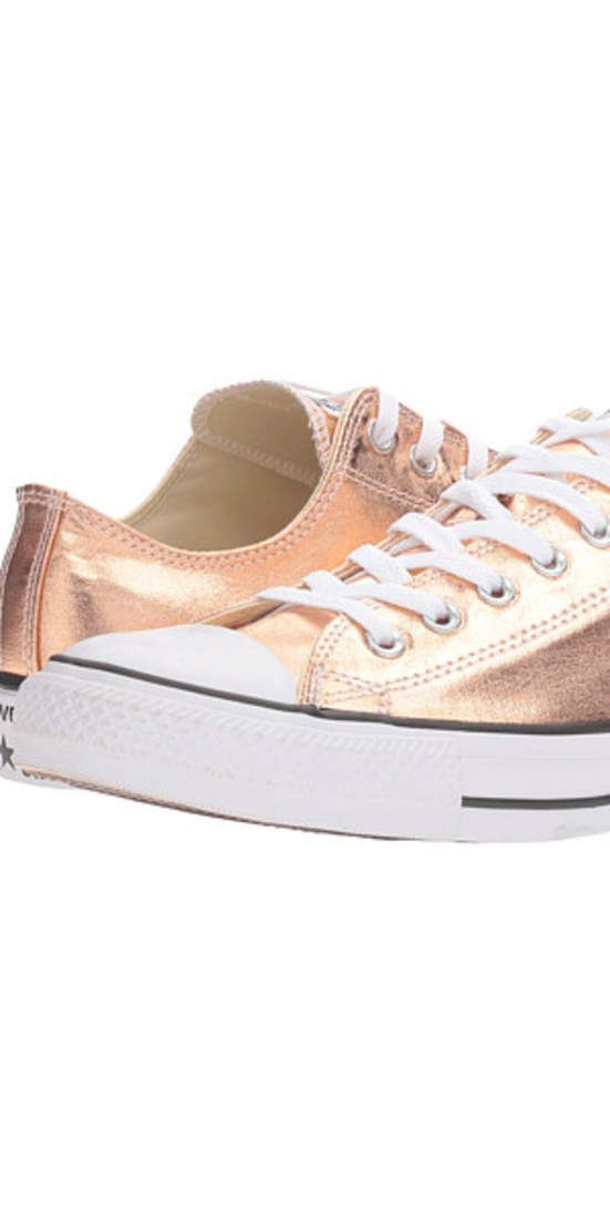 18161896ccc 8 Rose Gold Sneakers You Can Wear with Everything. Shoe RackConverse Chuck  TaylorChuck TaylorsAll StarGold ...