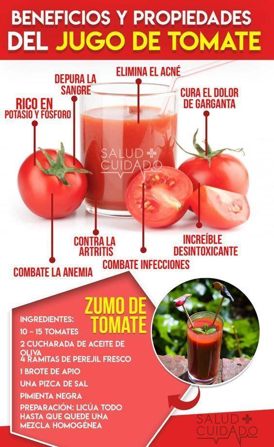 beneficios de consumir tomate para la salud
