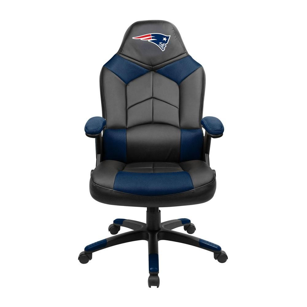 Brilliant New England Patriots Oversize Desk Or Gaming Chair Gaming Andrewgaddart Wooden Chair Designs For Living Room Andrewgaddartcom