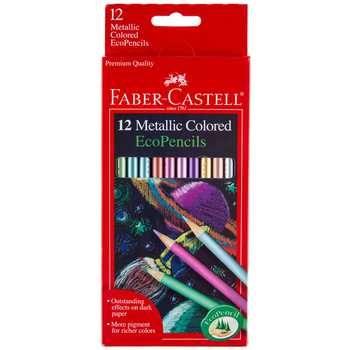Faber Castell Metallic Eco Colored Pencils Hobby Lobby 1151075 Metallic Colored Pencils Faber Castell Colored Pencil Set