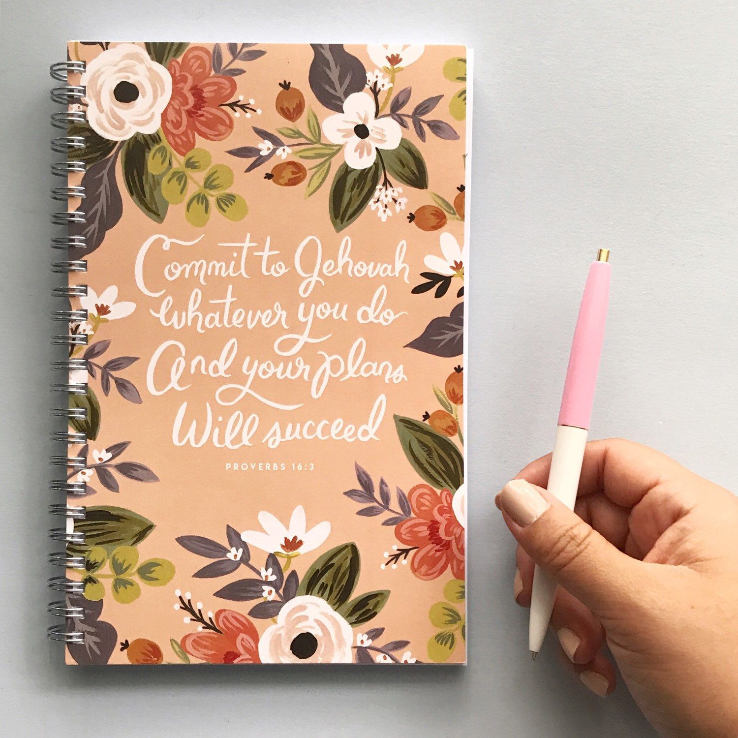 Planner - Commit to Jehovah Whatever You Do and Your Plans Will