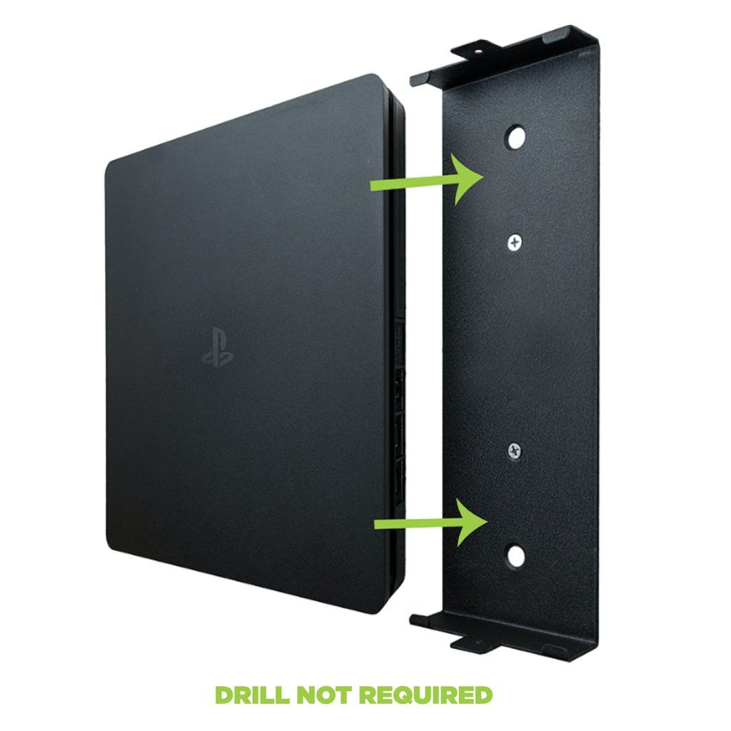 Hideit 4s Playstation Ps4 Slim Mount Vyzdoba Domacnosti A Vyzdoba