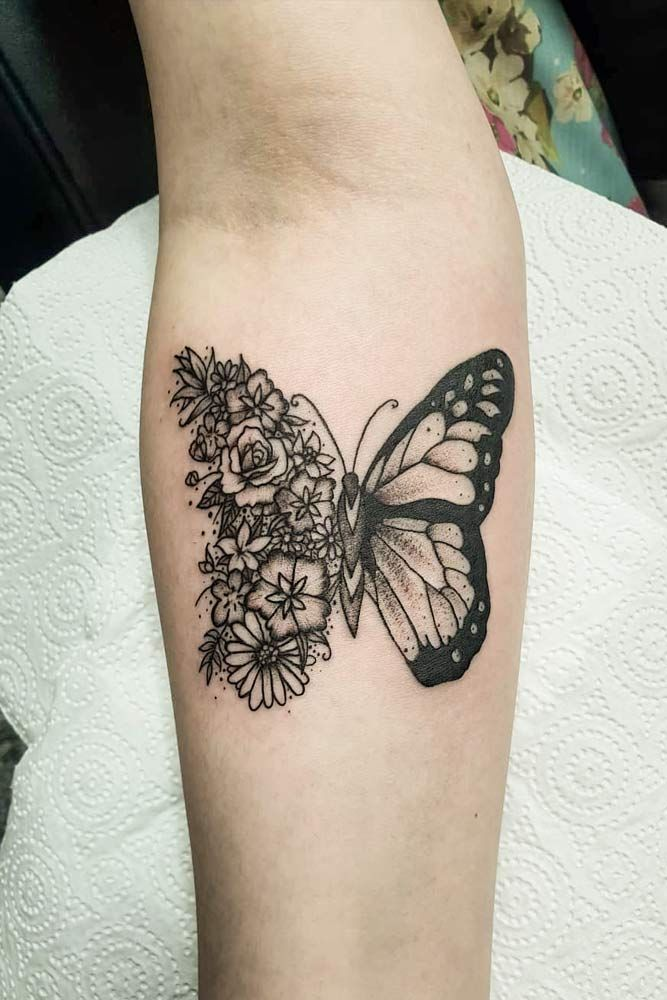 Photo of Beautiful And Meaningful Butterfly Tattoo Guide –   – #beautiful #butterfly #but…