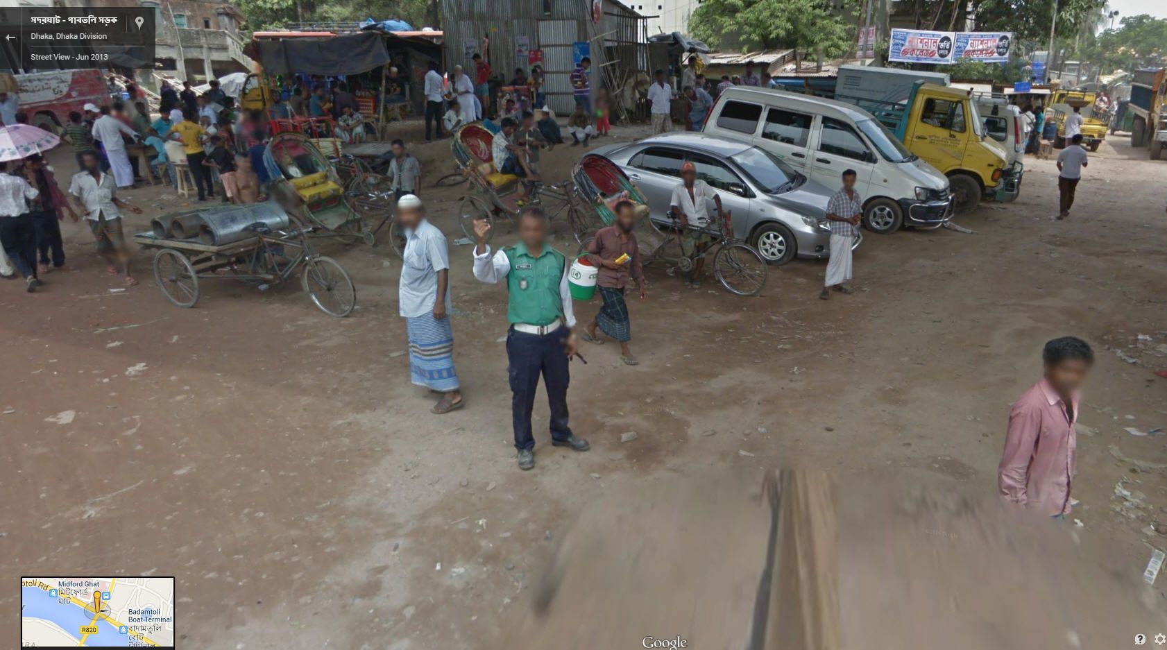 Google Street View Bangladesh Now Live Street View Maps Street