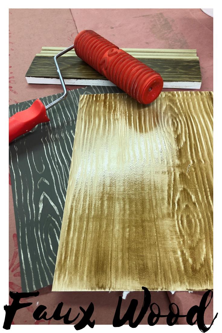 Faux Wood Tutorial Fauxy Rollers Diy Project Diy Faux Wood Floor Facebook Live Video Tutorial Diy Home Crafts Faux Wood Flooring Faux Wood