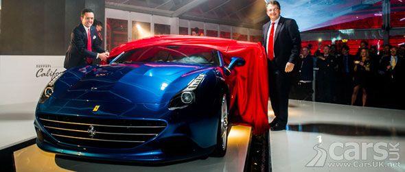 New Ferrari California T gets its UK debut #newferrari