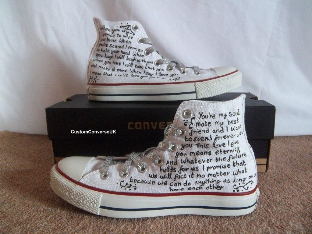 Wedding converse vows Wedding converse, Converse Wedding  Wedding converse, Converse wedding