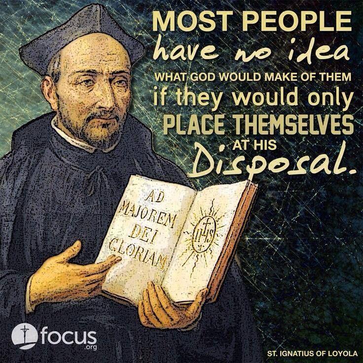 St Ignatius Quotes Amazing Via Stignatius Of Loyola…i Must Remember This Awestruck