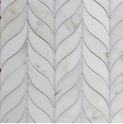 Walker Zanger - I like the look of chevron pattern, but with softer lines...
