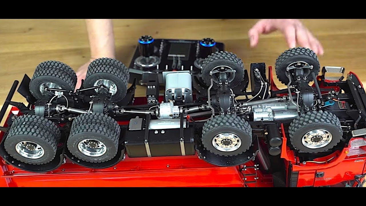 RC TRUCK ACTION REVIEW - MAN TGS 8x8 DUMP TRUCK - ScaleART