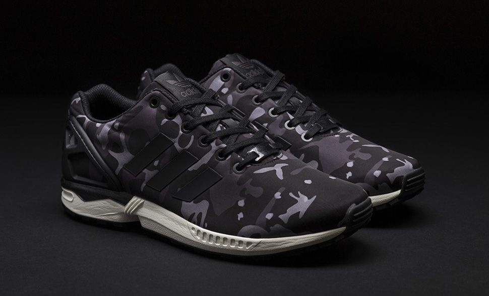 Sneakersnstuff x adidas ZX Flux 'Camo' | Shoes | Adidas zx