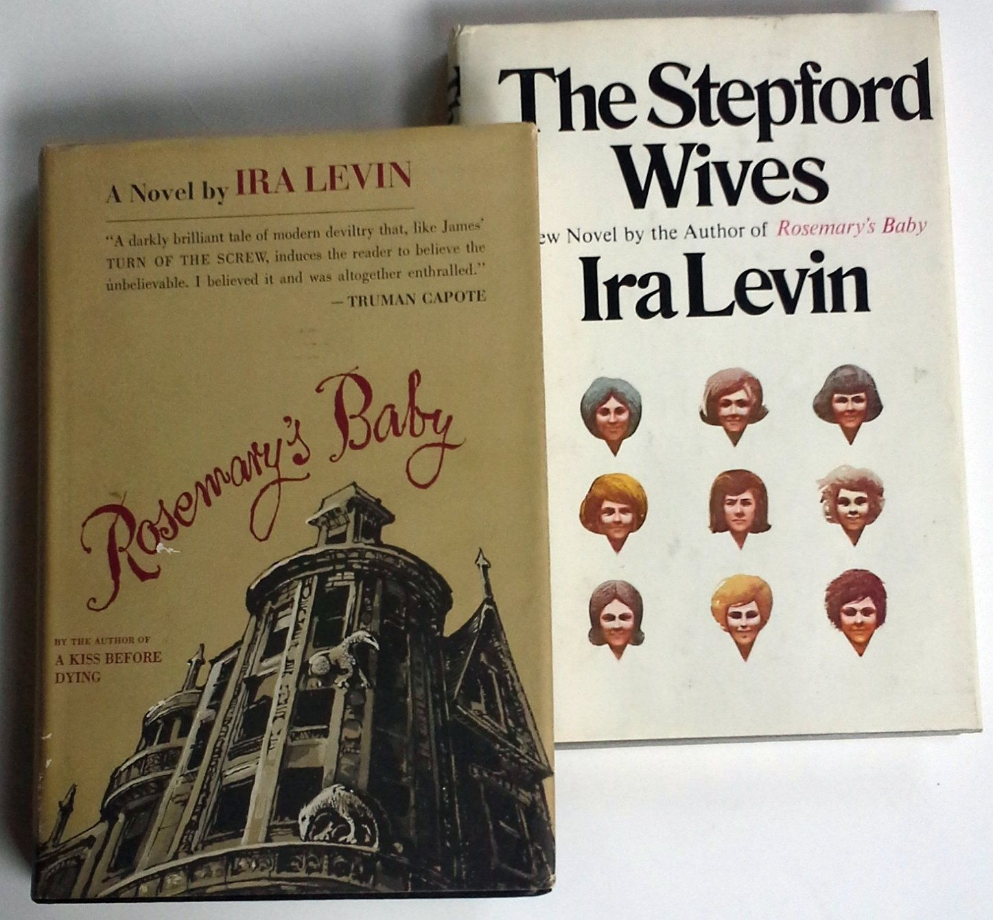 2 Books Rosemary S Baby The Stepford Wives By Ira Levin Both