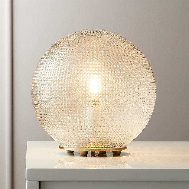 Halo Globe Table Lamp Reviews Cb2 Table Lamp Lamp Modern Table Lamp