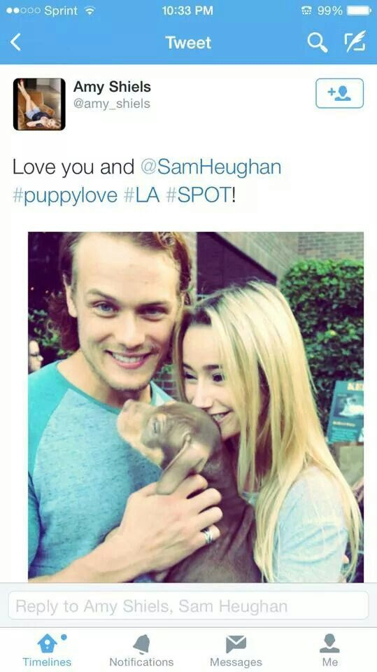 Is It Too Obvious To Tag This Puppy Love Amy Shiels Sam