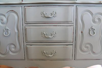 Recipe for Chalk Paint...don't spend big bucks on a quart when you can make your own!