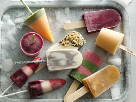 It's the Summer of Pops!  These new ideas are refreshingly easy to make–most have five ingredients or less. Here's to a cool Summer of Pops!