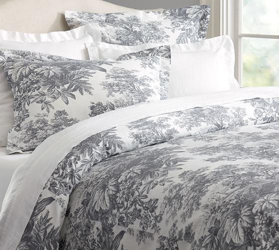 Matine Toile Duvet Cover Amp Sham Duvet Covers Bed Linens Luxury Master Bedroom Remodel