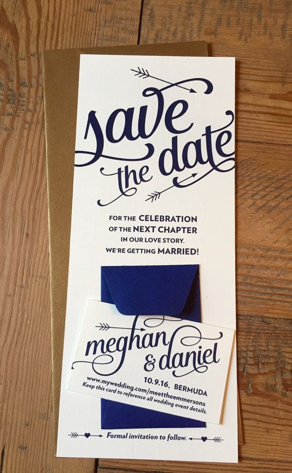 Custom for Meghan- Save the Date and Wedding Suite