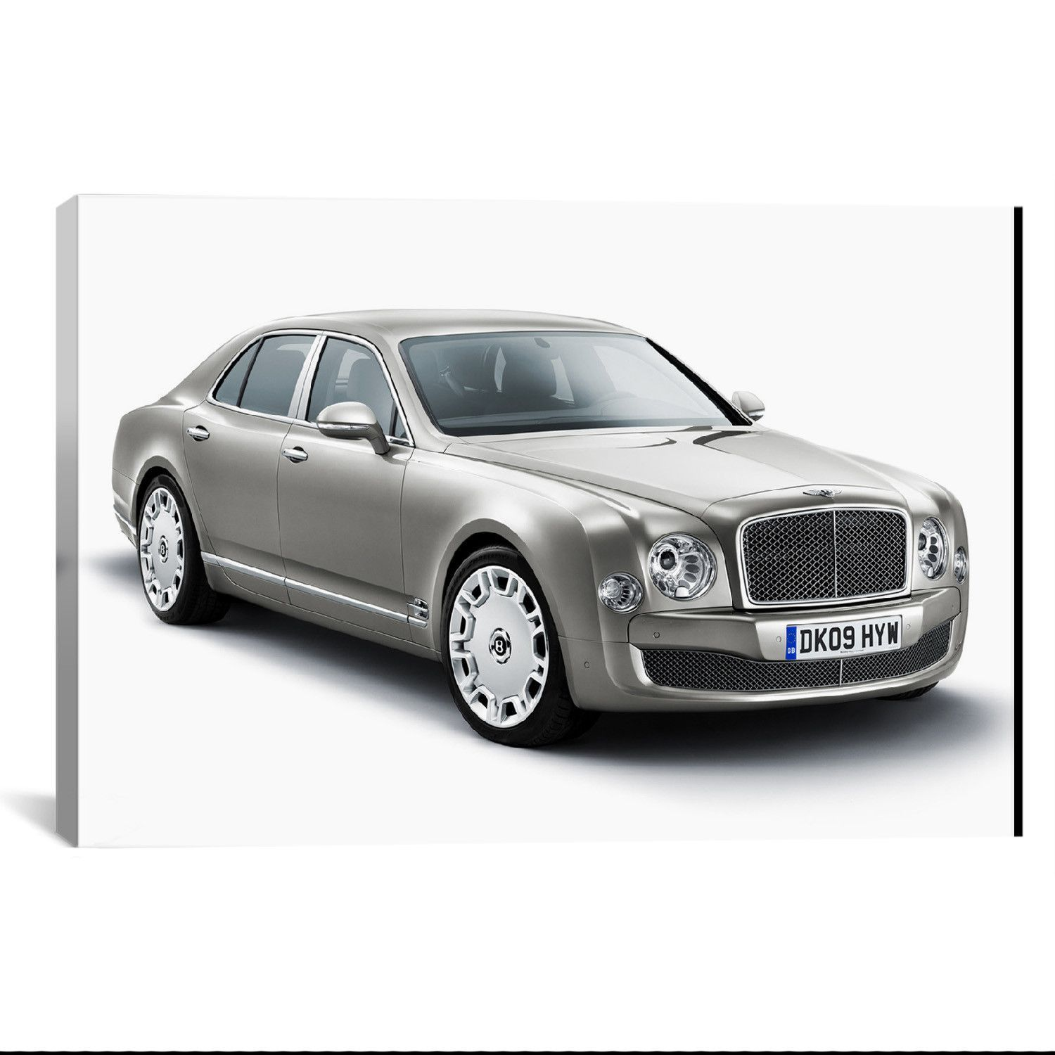 Bentley Mulsanne Gray By Unknown Artist What A Way To