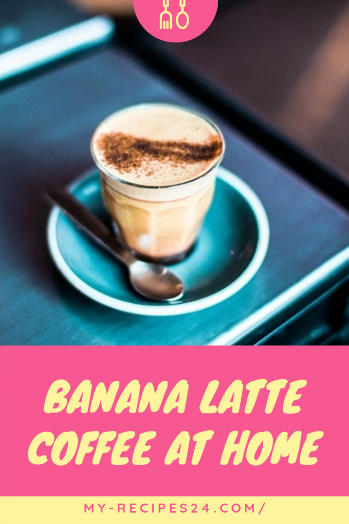 Banana latte coffee at home #espressoathome Banana latte coffee at home - My favorite recipes | My favorite recipes. Banana latte coffee at home is the best simple dessert drink recipe that combines espresso, ice cream, cream, icing sugar and banana. Click to learn recipe! #coffee_with_cream_drinks #coffee_recipes_at_home #coffee_recipes_latte #coffee_recipes_how_to_make #winter_coffee_recipes #coffee_with_banana #latte_recipes #espresso_coffee_recipes_desserts #Irenerecipes97 #espressoathome