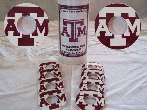 Rockin E Gift Company — Texas A&M Pitching Washers