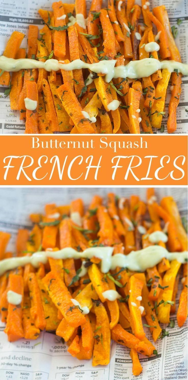 These Butternut Squash French Fries Are Very Healthy And Delicious A Perfect Snack Recipe