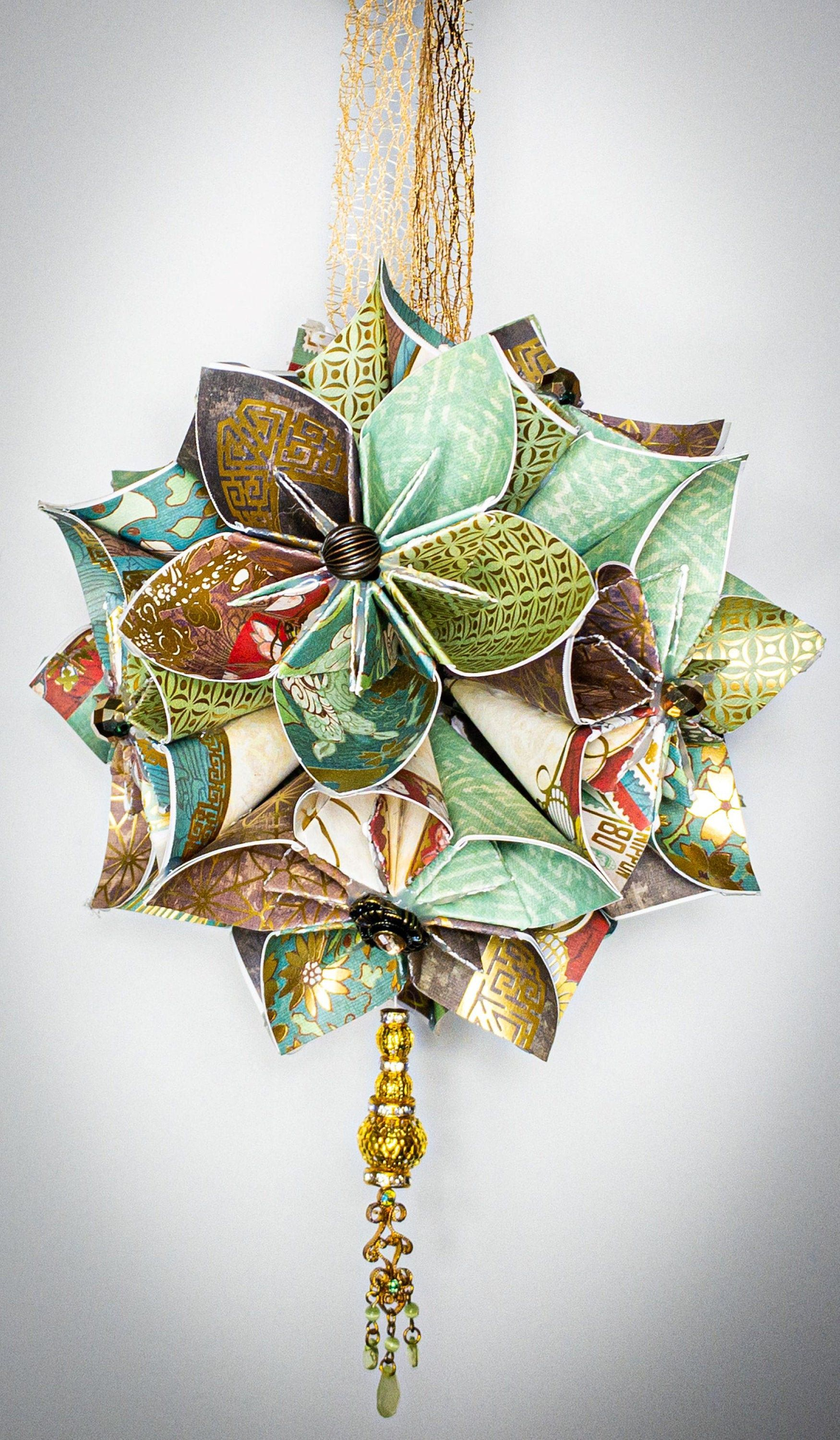 Pin On Origami Kusudama