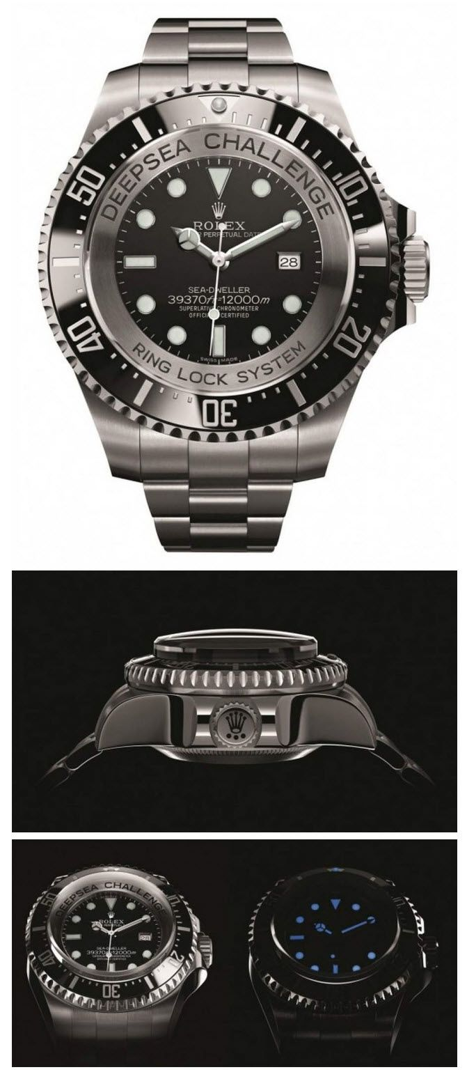 Rolex Deepsea Challenge Watch Stuff Things Watches For Men
