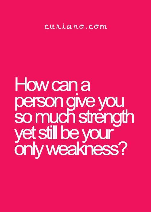 Strength & weakness | Text | Pinterest | Strength