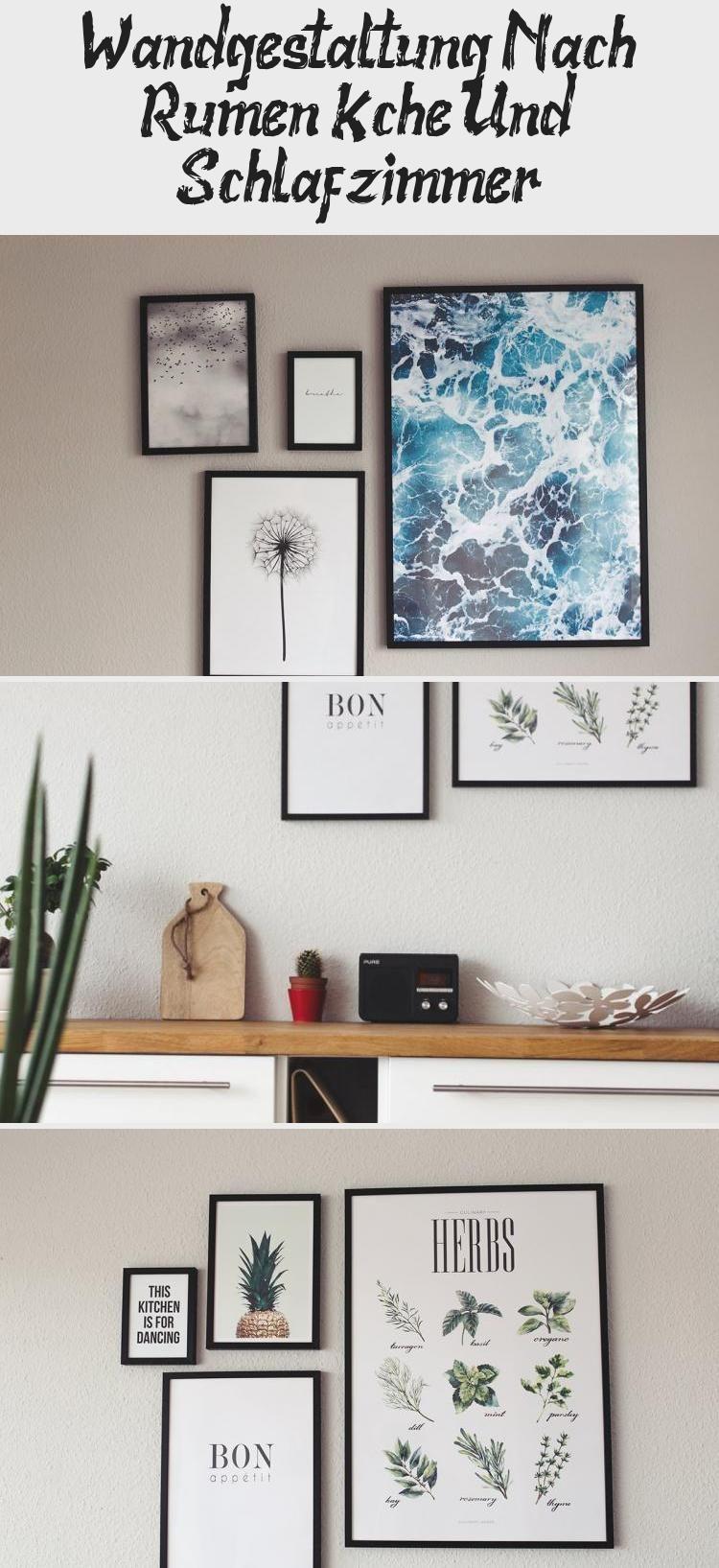 Wandgestaltung Nach Räumen: Küche Und Schlafzimmer #deseniobilderwand