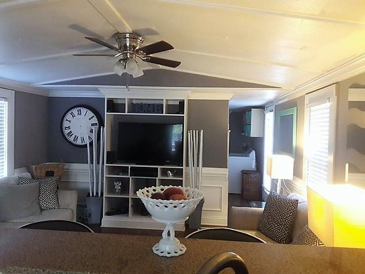 Remodeling Mobile Homes, How To Decorate A Living Room In Single Wide Mobile Home