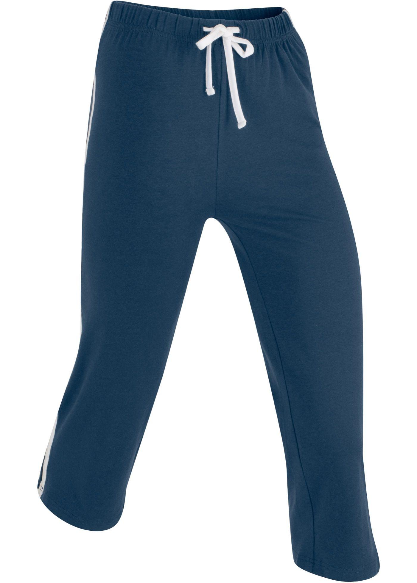 bpc bonprix collection Damen Hose mit Komfortbund und Bindeband in schwarz: Innenbeinlänge in Gr.42 ca.79cm, maschinenwaschbar. - Unterteile von bonprix. Weitere überraschend günstige Unterteile finden Sie auf bonprix.de.