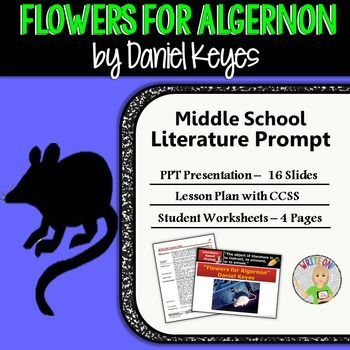 flowers for algernon essay thesis