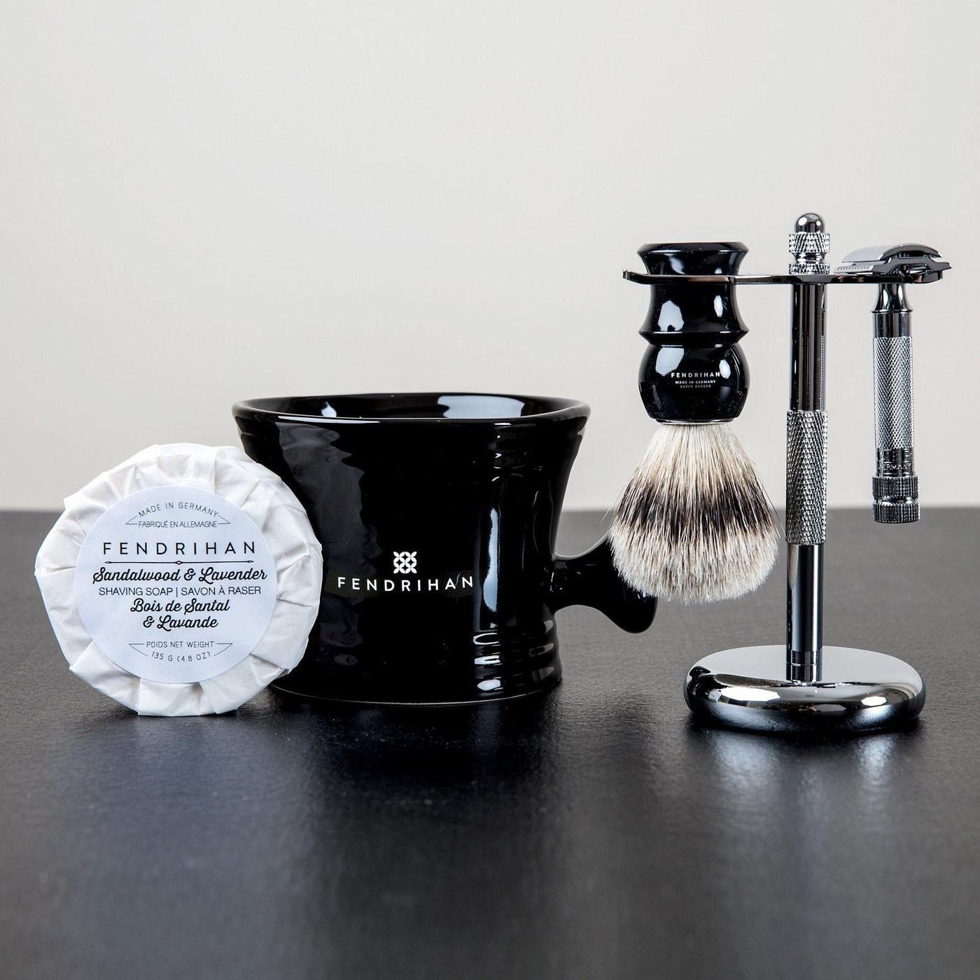 5Piece Wet Shaving Set with Merkur HD 34C Razor, Save 40