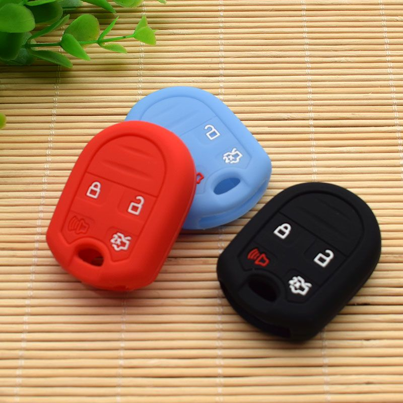 Silicone Protective Key Cover For Ford Mustang Focus Lincoln Mercury Mazda Sku Frds4c Ford Escape Accessories Ford Fusion Accessories Ford Focus Accessories