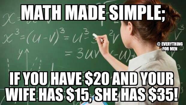 Living On The Edge Math Memes Teacher Memes Math Jokes