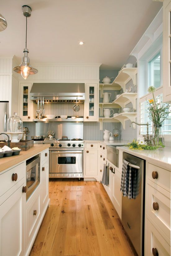 Cuisine Style Champetre Moderne Page 2 Decormag Kitchen