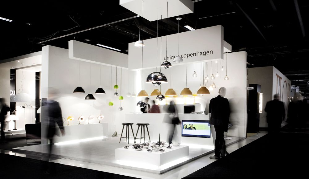 Modern Exhibition Booth Design : Norm architects penhagen architecture and design studio