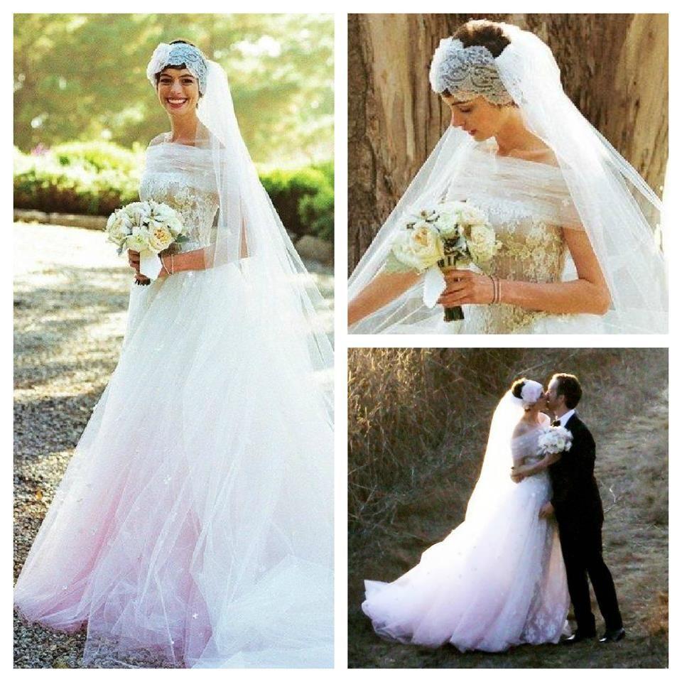robe de mariée de Anne Hathaway